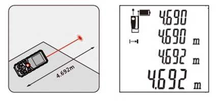 Измерение дистанции от точки А до точки Б